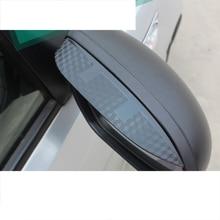 цена на lsrtw2017 engineering plastic car rearview shield for kia rio 2012 2013 2014 2015 2016 k2 pride