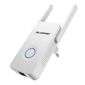 Image 5 - 1200Mbps COMFAST sans fil WiFi gamme Extender 2.4/5Ghz double bande répéteur Signal Booster 2 antennes Ethernet Wi fi amplificateur