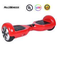 Megawheels Self Balance Electric Scooter 6.5inch T2 Hoverboard Ridable Electric Skateboard UL2272 Certificated No Tax RED