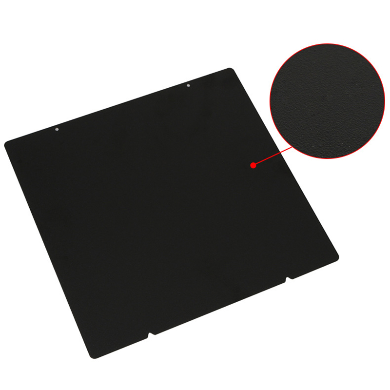 Image 5 - 3D Printer Hot Bed Accessories 220Mm Double Layer Texture Pei Powder Steel Plate + Magnetic Sticker B Surface For Anet A8 A6 W-in 3D Printer Parts & Accessories from Computer & Office