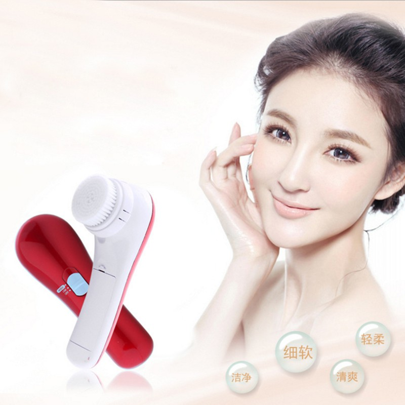 Electric Facial Wash Clean Machine Face Deeply Clean Facial & Body Skin Massager Electric Pore Cleansing Brush Beauty Instrument sonic cleansing brush cleanser wash your face wash your face massage instrument deep pores clean cleanser electric wash brush