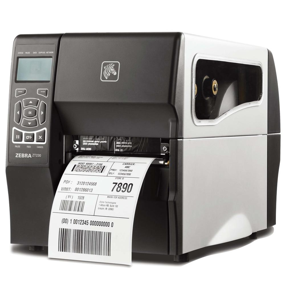 Industrial barcode printers zebra ZT230 300dpi hang tag