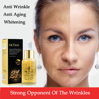 Anti Wrinkle Face Cream 24k Gold Essence Anti Aging Skin Whitening Creams Moisturizing Face Care Hyaluronic
