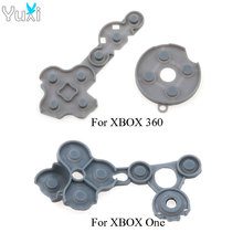 YuXi Rubber Conductive Adhesive D Pad Replace Repair Parts Set For Xbox One Xbox360 Controller