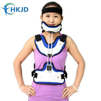 Newest Design Medical Brace Cervical Thoracic Orthosis Health Care Product Fixation Stent Free Shipping Via Express