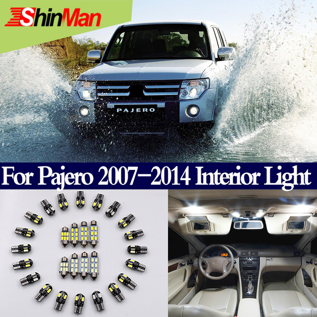 shinman 9x error free canbus auto conversion master led interior