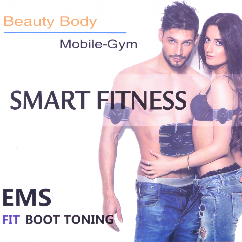 BOLIKOM Abdominal Muscle Training EMS Stimulator Device Wireless Belt Gym Professional Body Slimming Massager Home Fitness fitness padded gravity boots safety locking mechanism ankle hooks abdominal workout training hang up ab gym equipment