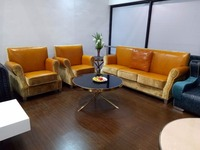 Genuine Leather Sofa Living Room Furniture 1 1 3 U Shape Made In China