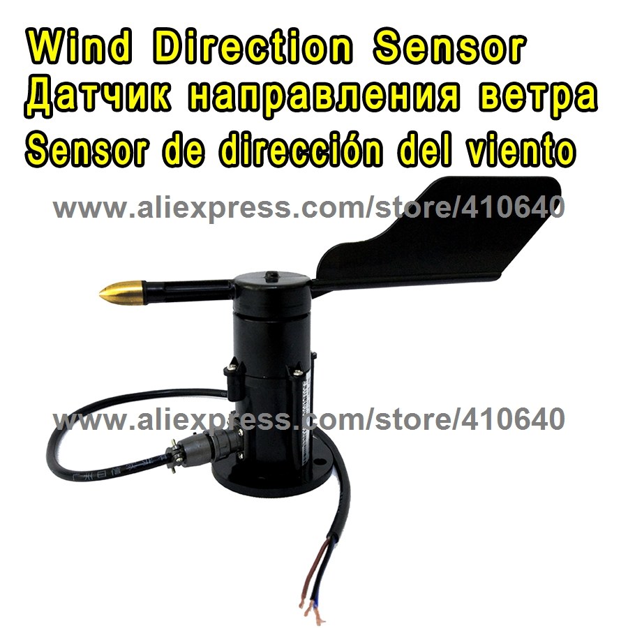 цена на 0.4 to 2V Output Wind Direction Sensor 360 Degree Anemometer DC 7 to 24V Power Supply Small Weather Station Parts FROM FACTORY !