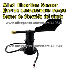 0.4 to 2V Output Wind Direction Sensor 360 Degree Anemometer DC 7 24V Power Supply Small Weather Station Parts FROM FACTORY !