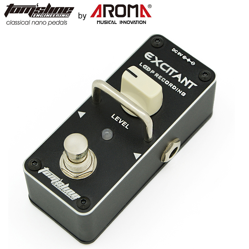 Aroma Nano Looper Pedal Electric Guitar Effect Pedal ALP-3 Looper True Bypass Unlimited Overdubs Guitar Parts and Accessories