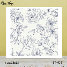 ZhuoAng  ST-626 transparent silicone stamp / DIY scrapbook photo album decorative seal