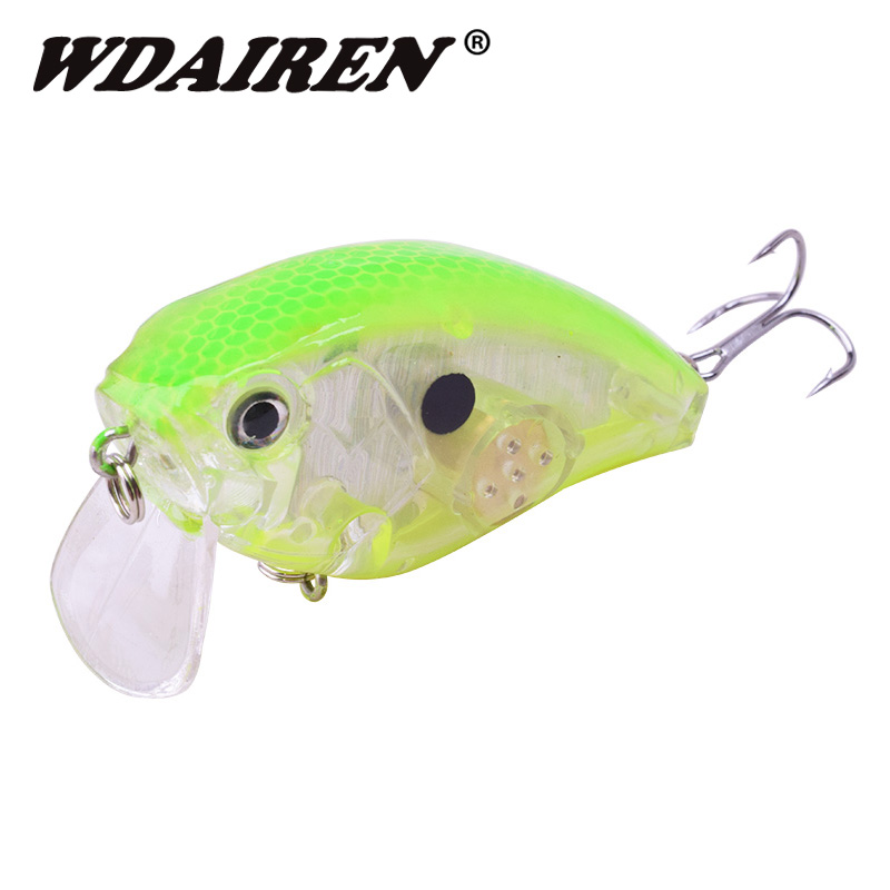 1Pcs sinking Fishing Lure 65mm 16.8g Wobbler Crankbait Minnow Bass Trolling Artificial Bait Pike Peche Carp lures Fishing tackle