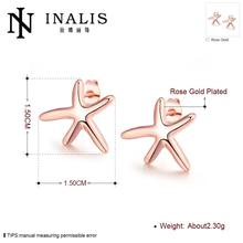 E024 Wholesale Nickle Free Antiallergic Gold color Earrings For Women New Fashion Jewelry
