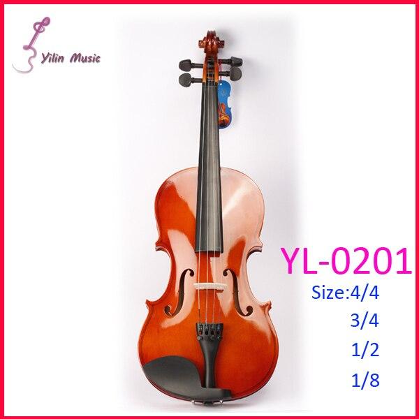 Yilin Basswood Polywood  Violin 4/4 1/4 3/4 1/2 1/8 Size  Violin Sent with Bow Rosin and Case юбка mary kay yilin 93464033