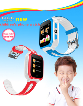 2019 Intelligent Children's Smart Watch SOS Mobile Phone Voice Chat Large Capacity Battery Sleep Monitoring SIM Smart Watches 10