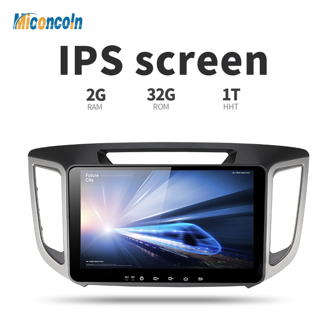 CIX251060 2G android 8,1 navegación del coche reproductor de dvd 1024*600 para HYUNDAI IX25 CRETA gps estéreo coche multimedia reproductor de dvd