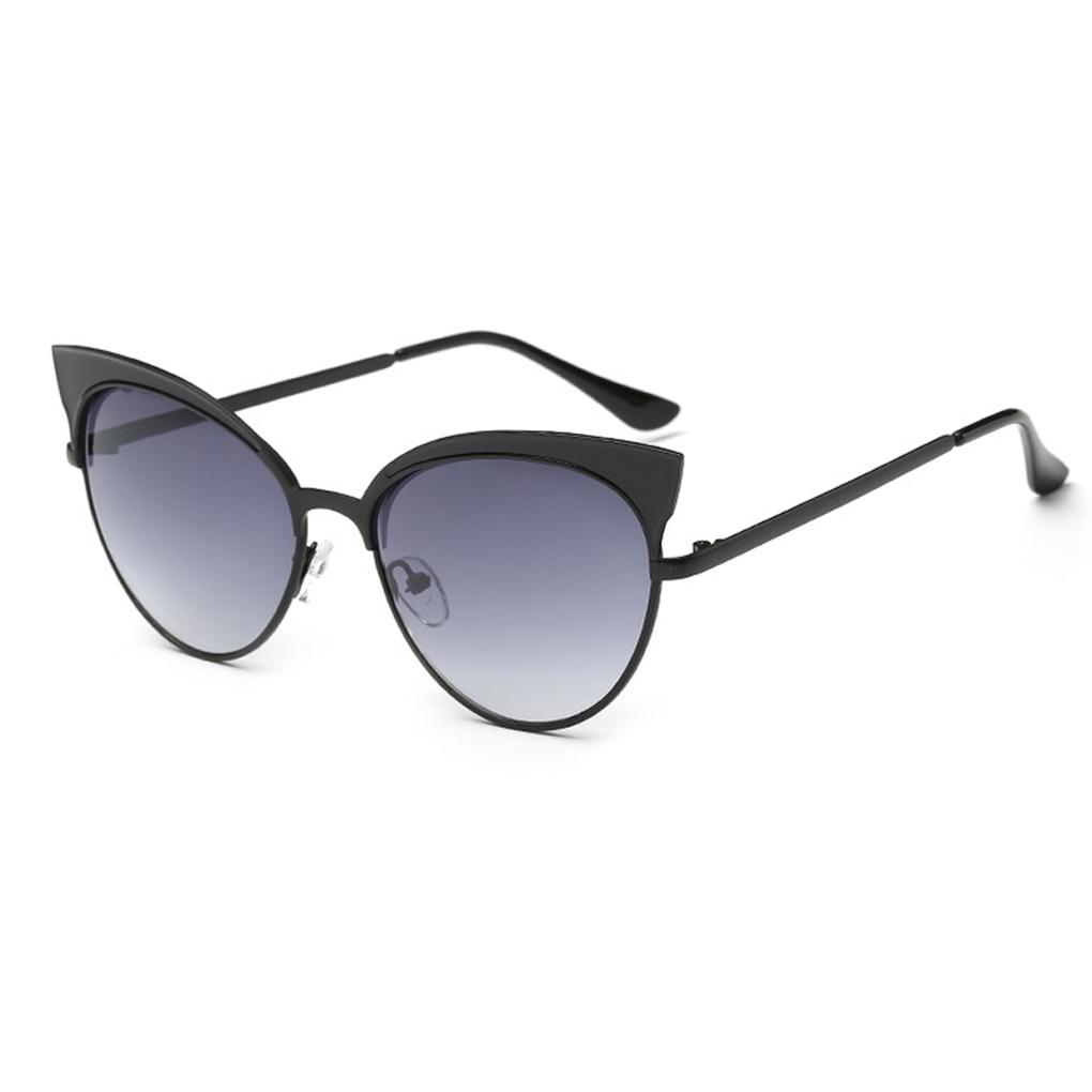 Cateye Olho de Gato mulheres óculos de Sol Tons de Grandes Dimensões Das  Mulheres Designer De Marca Óculos de Sol UV400 81deeb0491