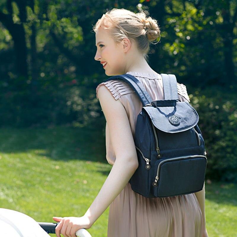 6 couleurs multi-fonction momie maternité Nappy sac grande capacité bébé sac voyage sac à dos poussette sac à langer sac pour les soins de bébé