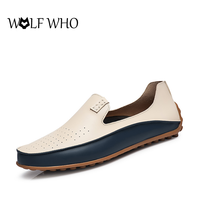 Breathable Doug shoes Men and Female Hole shoes Fashion Slip On flats spring leisure Loafers Casual Moccasins Shoes For Driver hot 2017 new fashion womens weave shoes spring summer mixed color breathable casual shoes flats slip on loafers tenis feminino