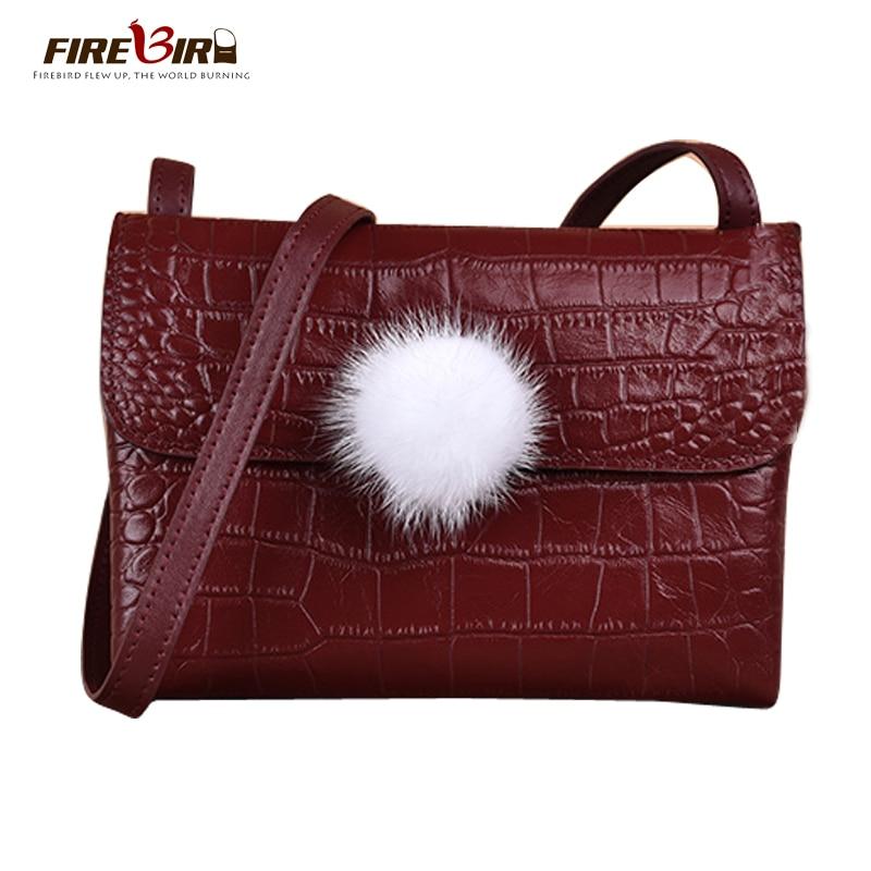 Women Messenger Bag small Mini feminina bag Good quality Alligator PU leather crossbody bags for women pouch FIREBIRD Cooler bag