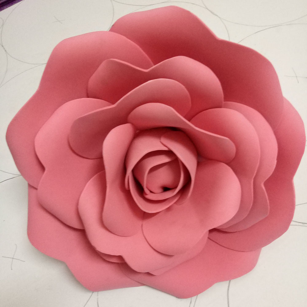 100handmade15cm Foam Flower Party Christmas Wedding Decoration