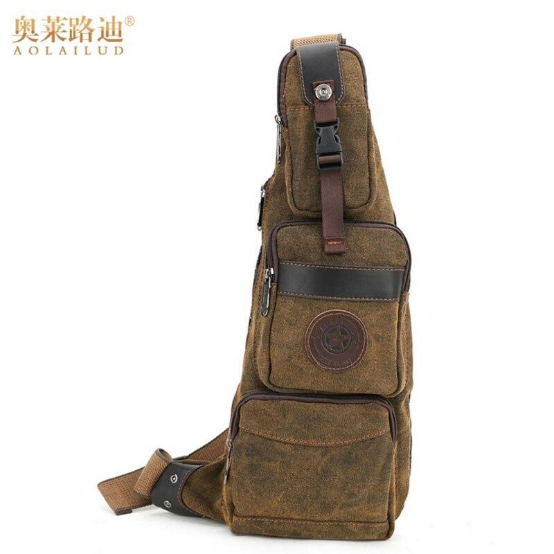 Backpacks High Quality Men Waterproof Sling Backpack Rucksack Daypack Travel Assualt Male Half Moon Nylon Shoulder Cross Body Chest Bag Good Reputation Over The World