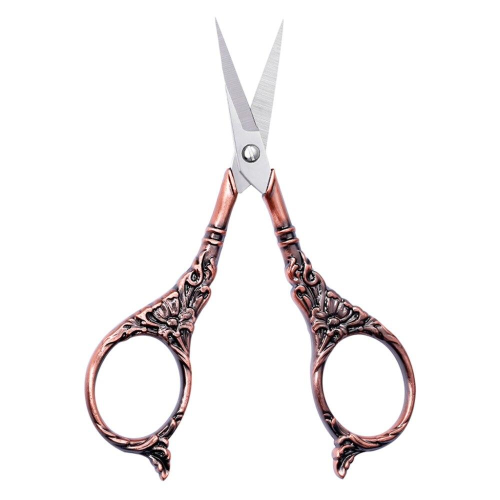 Vintage Embroidery Scissor Sewing Handicraft Fabric DIY Craft Art Cross Stitch Scissors Classic Tailor Shears Cutter Tools