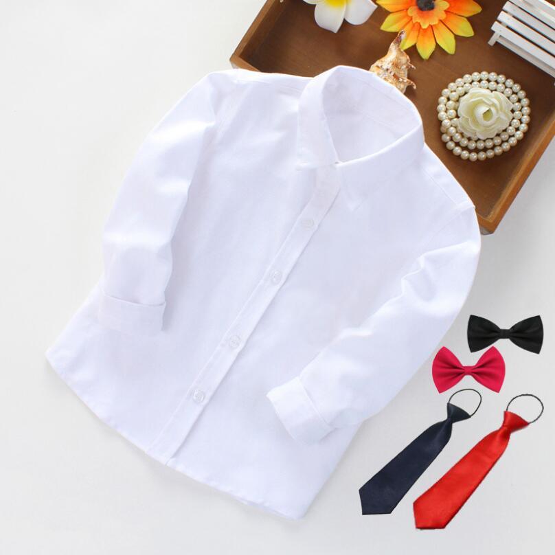 Boys' Long-Sleeve Bowtie Shirts