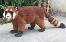Simulation Raccoon polyethylene&furs Raccoon model funny gift about 100cmx55cm