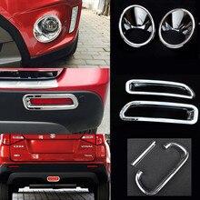 Éclairage de frein chromé ABS, pour Suzuki Vitara Escudo 2015 2019, garniture antibrouillard avant/arrière