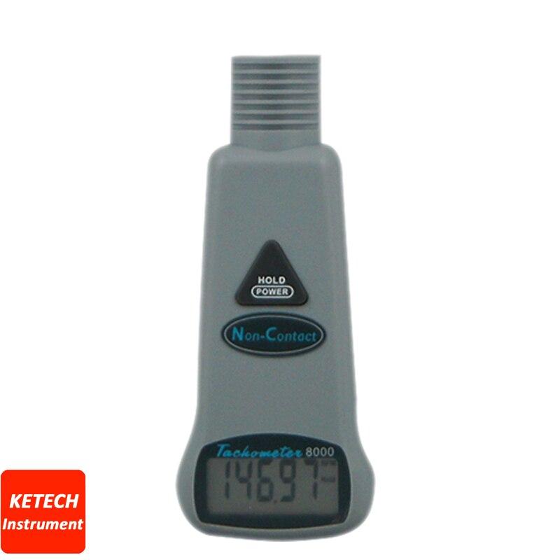 Mini tachymètre numérique sans contact tachymètre de poche AZ8000