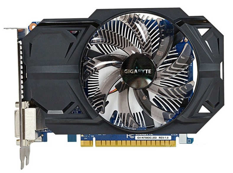 Tarjeta gráfica GIGABYTE GTX 750 2GB 128Bit GDDR5 tarjetas de vídeo para nVIDIA Geforce GTX750 Hdmi Dvi usadas tarjetas VGA en venta gtx750ti