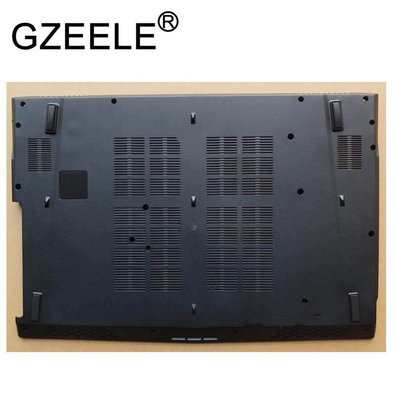 GZEELE NEW Bottom case For MSI GE72 MS-1791 MS-17911 MS-1794 Laptop Bottom Base Case Cover lower case D shell black