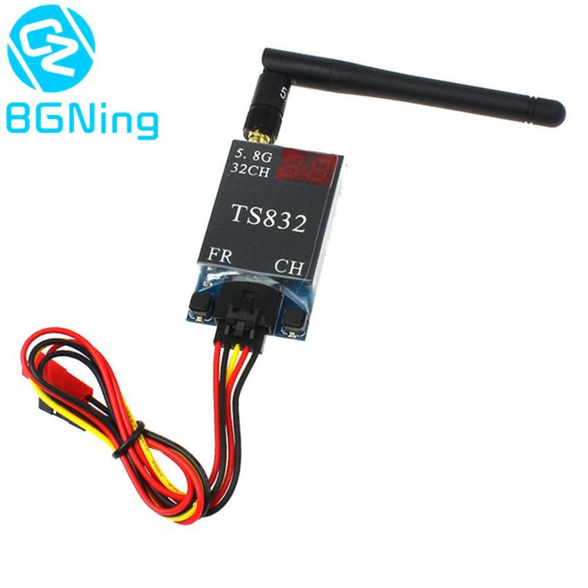 5.8G 40CH 600mw TS832 AV Transmitter Version2.0 FPV Aerial Photo Studio Transmission Accessory