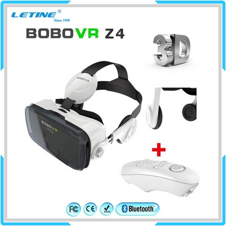 <font><b>New</b></font> <font><b>VR</b></font> <font><b>Shinecon</b></font> Bluetooth <font><b>Virtual</b></font> <font><b>Reality</b></font> 3D <font><b>Glasses</b></font> <font><b>Headset</b></font> For Iphone Samsung <font><b>VR</b></font> Box 3.5-6.0 Inch Phone Google Cardboard Z4