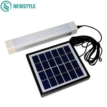 Panel Solar de carga LED, luces de campamento al aire libre, tiendas portátiles, lámparas de Camping, USB recargable, luz nocturna de emergencia, linterna de senderismo