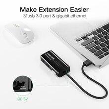 Ugreen USB Ethernet USB 3.0 2.0 to RJ45 HUB for Xiaomi Mi Box 3 Android TV Set-top Box Ethernet Adapter Network Card USB Lan