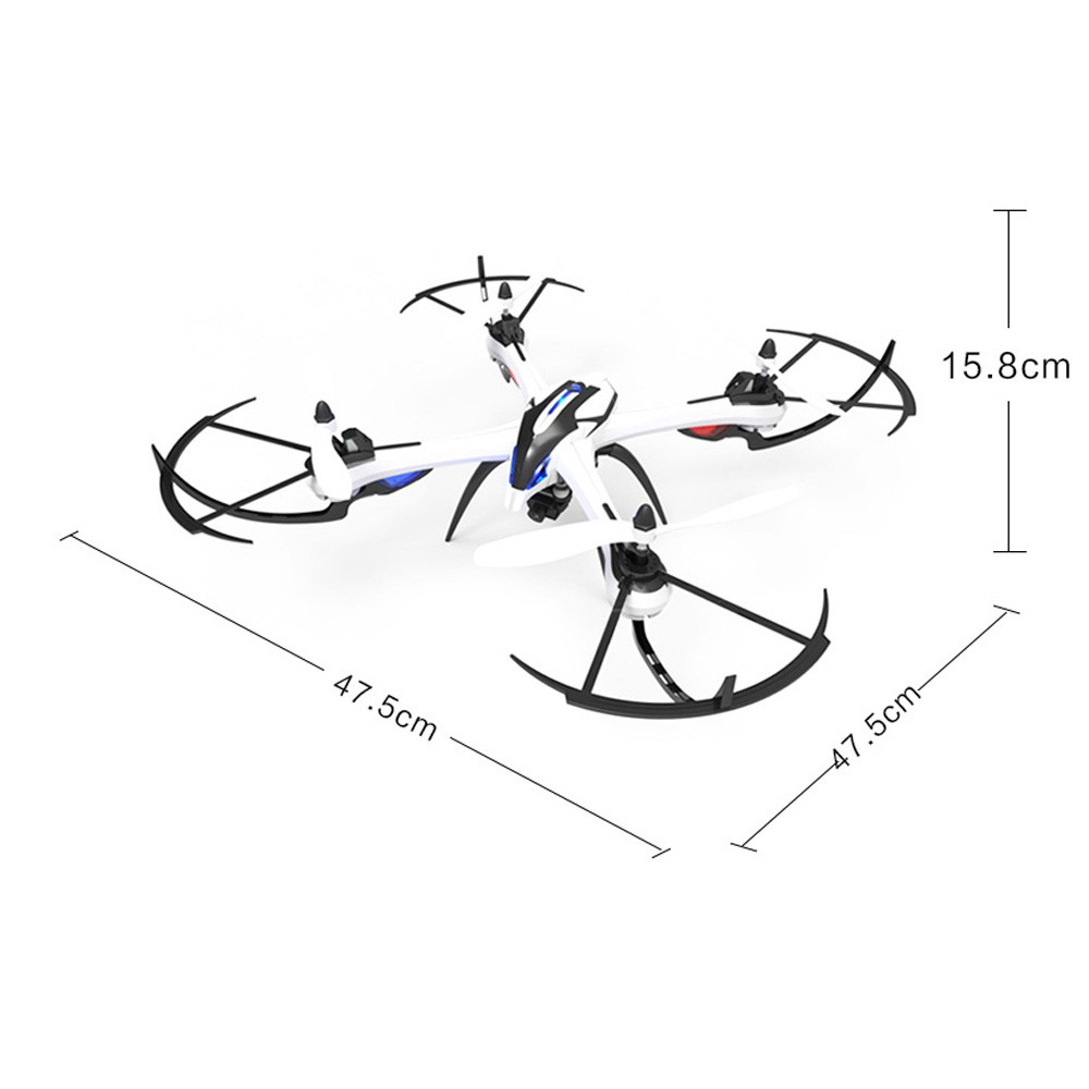 Hot 2017 H16-2 6-axis 360 Spotlight 2.4GHz RC quadcopter camera 2mp RTF Drone Toy Y7817