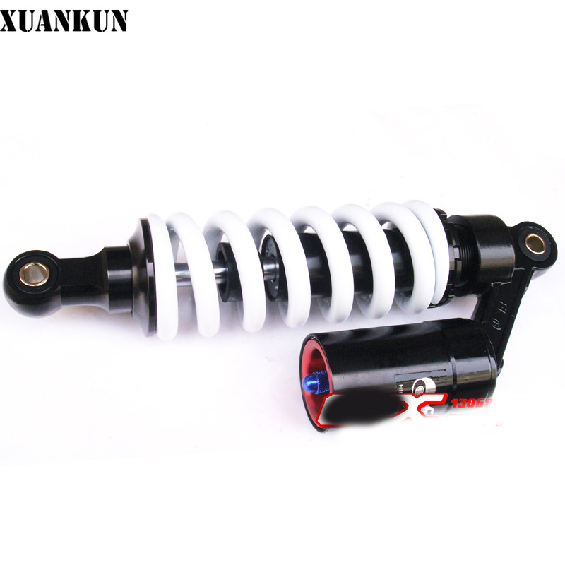 XUANKUN  Mini-Off-Road Motorcycle Accessories 260/270/280 / 295mm Hole Distance   Rear Balloon Shock Absorber