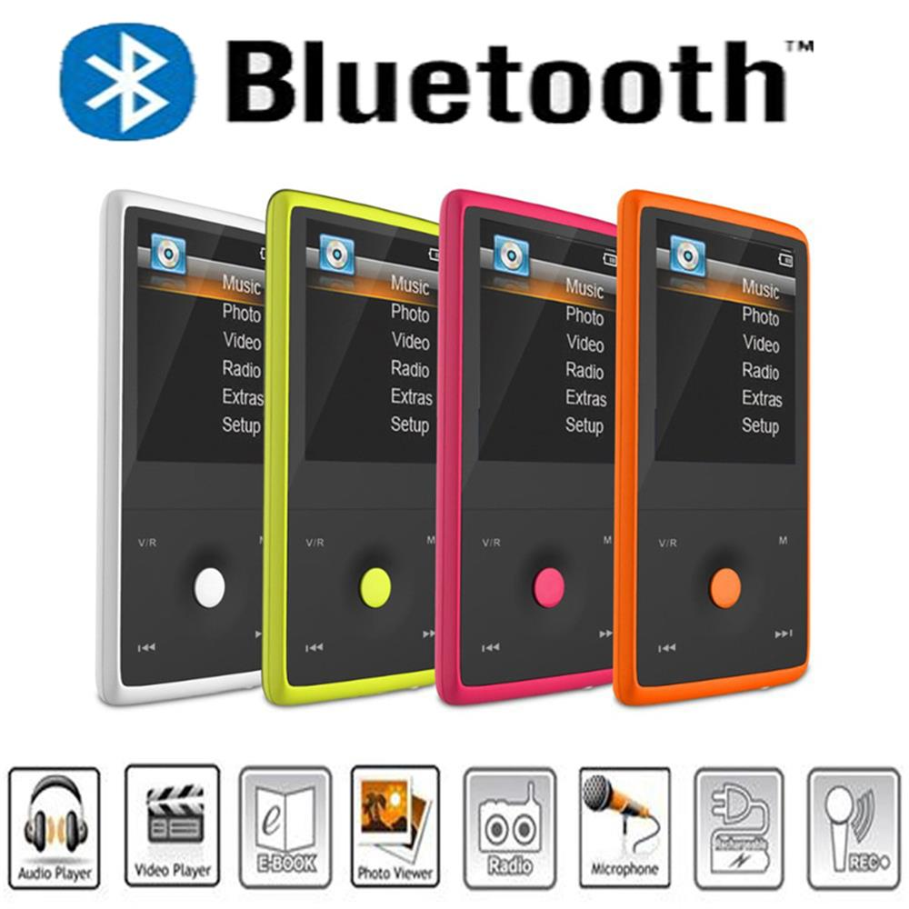 HOTT MU1036 2016 Bluetooth MP3 Player with 8GB 1 8 Inch Screen Sports MP3 player high