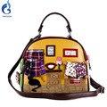 КОШКА дома сумка 2016 Новых женщин сумки Сумки Италия Ретро Ручной Конфеты Bolsos Bolsa Feminina известный дизайнер crossbody сумка