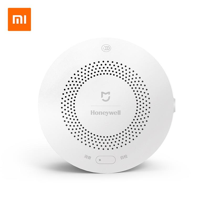 Xiaomi Norma Mijia Honeywell Allarme Incendio Rivelatore di Allarme Acustico E Visivo di Lavoro Con Gateway Rivelatore di Fumo Smart Home, Casa Intelligente A Distanza di Controllo