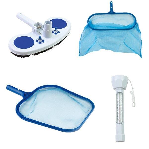 swimming pool vacuum head leaf skimmer pool thermometor set Pool Accessories