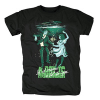 Bloodhoof Free shipping A DAY TO REMEMBER Homesick Retro Rock Men's New T Shirt Asian Size