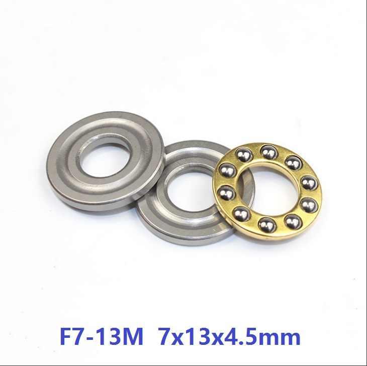 10 8 x 19 x 7mm F8-19M Axial Ball Miniature Thrust Bearing 3-Parts 8*19*7