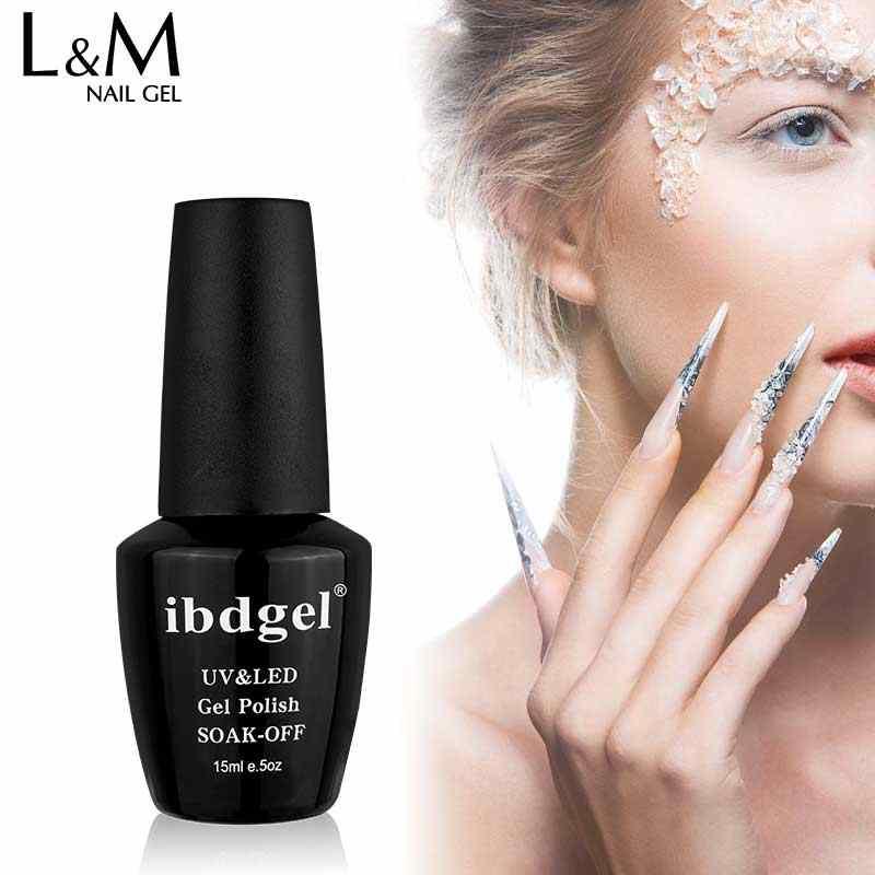 1 בקבוק ibdgel UV Builder ג 'ל לכה לאורך זמן 6 צבעים Builder ג' ל אצבע הארכת עבור לק