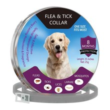 Flea Pet Collar for Cat Anti and Tick Lice Pest Mosquitoes Collars Kill Parasite Deworming Small Medium Pets