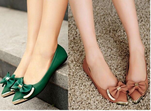 New 2014 Women's Elegant Green Brown