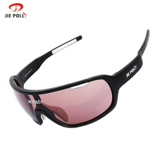 JIEPOLLY Sports Fietsbril Outdoor Cycling Bicycle Glasses For Sport Bike Fishing Sunglasses Gafas Ciclismo Eyewear